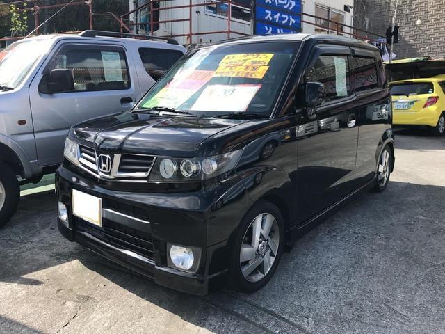沖縄の中古車 ホンダ ゼストスパーク 車両価格 39万円 リ済込 2011(平成23)年 11.7万km ブラック