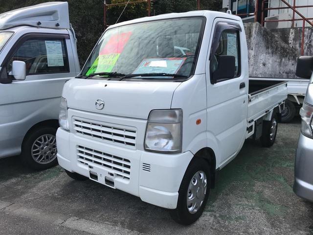 沖縄の中古車 マツダ スクラムトラック 車両価格 38万円 リ済込 2011(平成23)年 12.5万km ホワイト