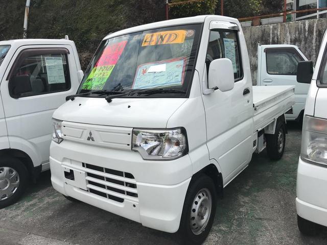 沖縄の中古車 三菱 ミニキャブトラック 車両価格 47万円 リ済込 2013(平成25)年 10.6万km ホワイト