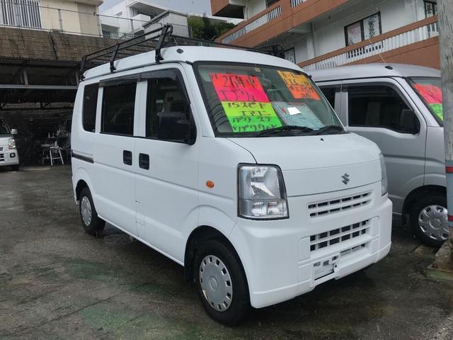 沖縄県の中古車ならエブリイ ジョイン エアコン パワーステアリング パワーウィンドウ キーレス ETC CD Wエアバック ABS
