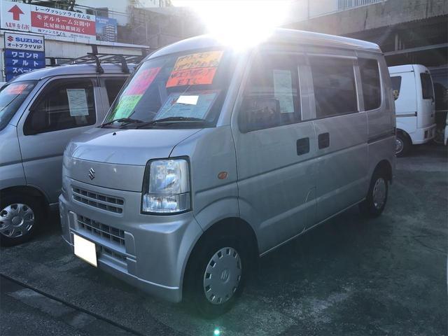 沖縄県の中古車ならエブリイ ジョイン エアコン Wエアバック ETC パワーステアリング パワーウィンドウ