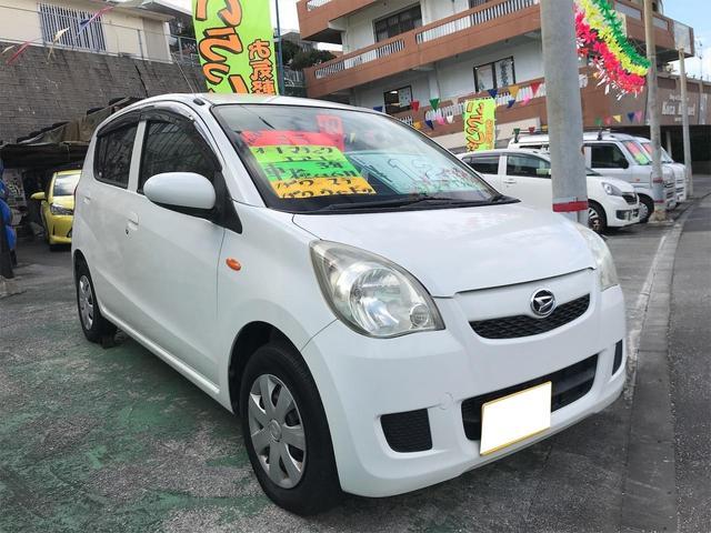沖縄の中古車 ダイハツ ミラ 車両価格 12万円 リ済別 2008(平成20)年 11.8万km ホワイト