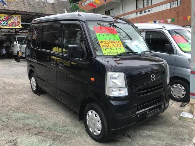 沖縄の中古車 マツダ スクラム 車両価格 36万円 リ済込 2010(平成22)年 15.0万km ブラック