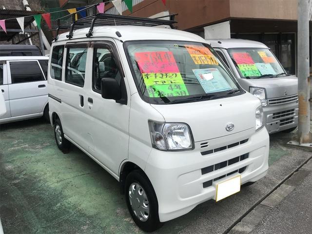 沖縄県の中古車ならハイゼットカーゴ スペシャル Wエアバック オーバードライブ パワーステアリング エアコン