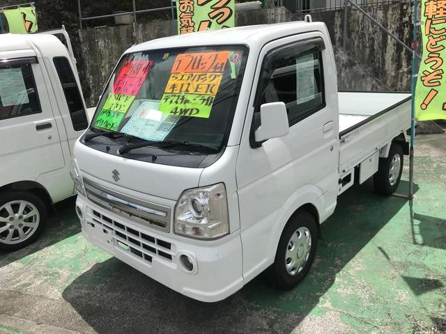 沖縄県沖縄市の中古車ならキャリイトラック KX マニュアル車 パワーステアリング パワーウィンドウ エアコン キーレス ETC ディスチャージライト エアバック
