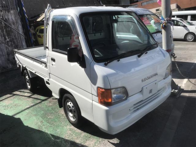 沖縄県の中古車ならサンバートラック  現状販売 マニュアル車 4WD