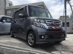 沖縄の中古車 ホンダ N BOXカスタム 車両価格 149.8万円 リ済別 平成29年 0.5万K ガンM