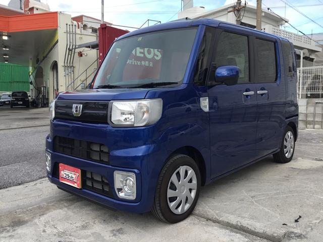 沖縄の中古車 ダイハツ ウェイク 車両価格 119.8万円 リ済別 平成29年 11km ブルーM