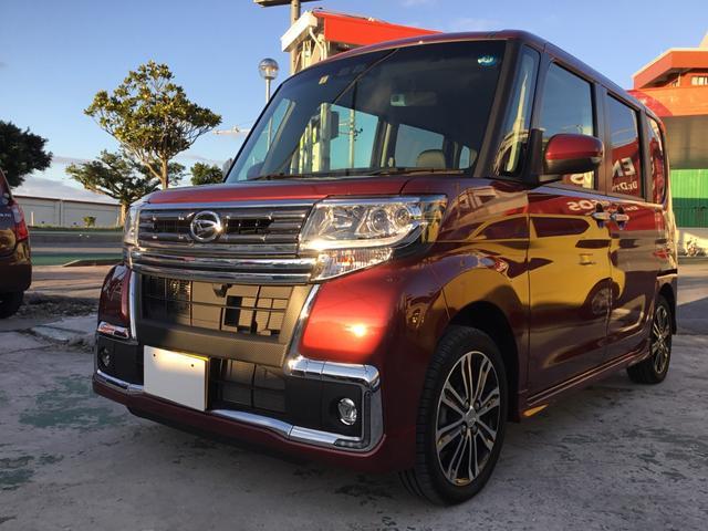 沖縄の中古車 ダイハツ タント 車両価格 149.8万円 リ済別 2018(平成30)年 0.1万km ダークレッドM