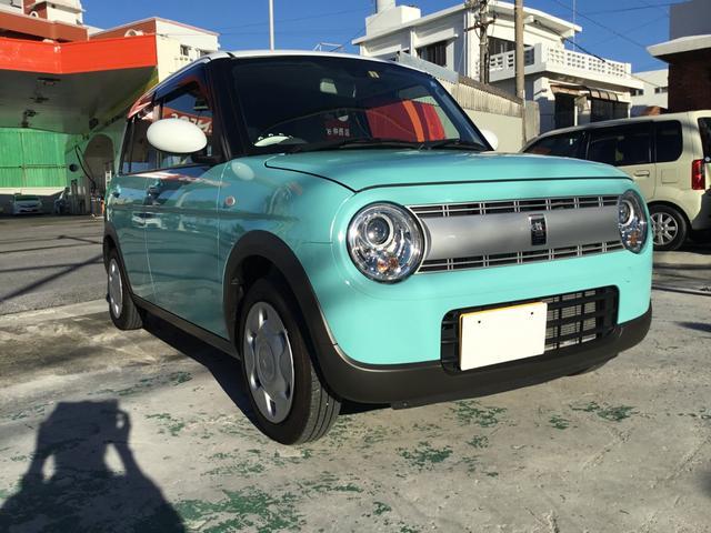 沖縄県の中古車ならアルトラパン S フルセグナビ・衝突被害軽減ブレーキ