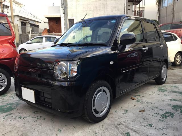 沖縄の中古車 ダイハツ ミラトコット 車両価格 84.8万円 リ済別 2018(平成30)年 12km ブラックM