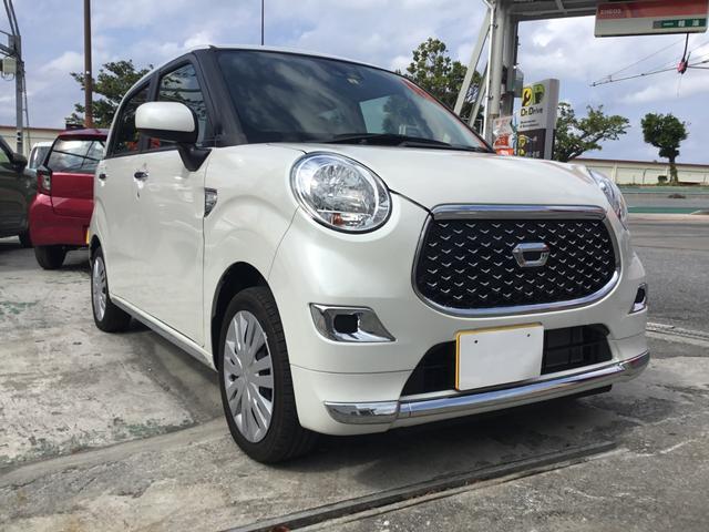 沖縄県の中古車ならキャスト スタイルX SAIII 届出済未使用車