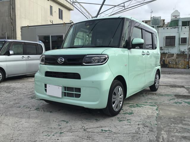 沖縄県の中古車ならタント Xターボ 9インチナビ 即納車