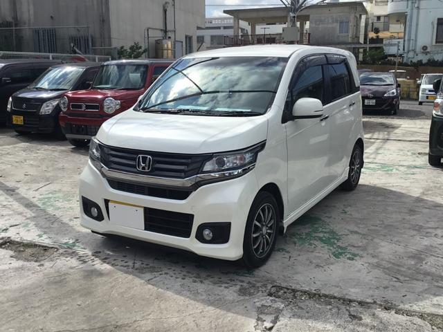 沖縄県の中古車ならN-WGNカスタム G・ターボパッケージ スマートキー・プッシュエンジンスタート