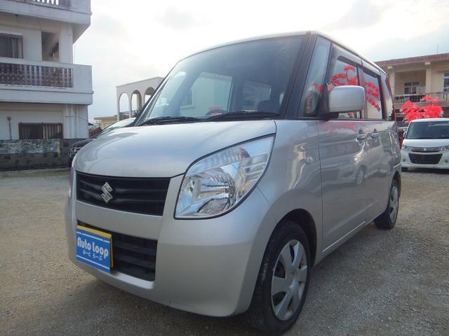 沖縄の中古車 スズキ パレット 車両価格 39万円 リ済込 平成22年 9.8万km シルバーM
