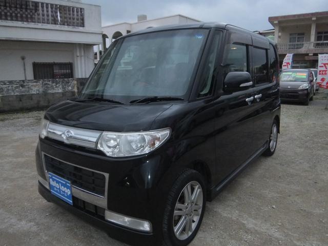沖縄の中古車 ダイハツ タント 車両価格 55万円 リ済込 平成22年 10.3万km ブラックM