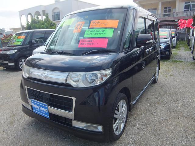 沖縄の中古車 ダイハツ タント 車両価格 50万円 リ済込 平成21年 11.9万km ブラックM