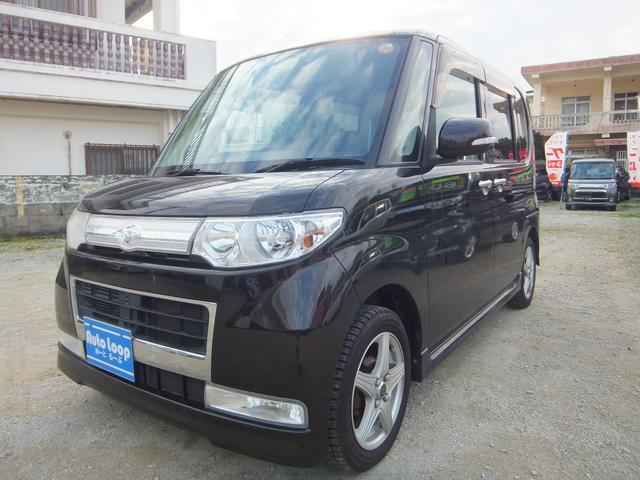 沖縄の中古車 ダイハツ タント 車両価格 49万円 リ済込 平成22年 10.7万km ブラックM
