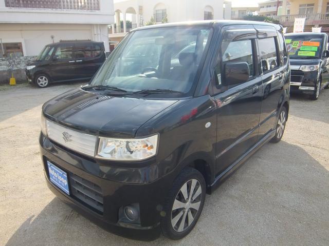 沖縄の中古車 スズキ ワゴンR 車両価格 24万円 リ済込 平成19年 10.9万km ブラックM