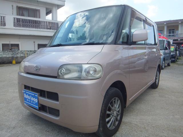 沖縄の中古車 ダイハツ タント 車両価格 14万円 リ済込 2004(平成16)年 7.8万km ピンク