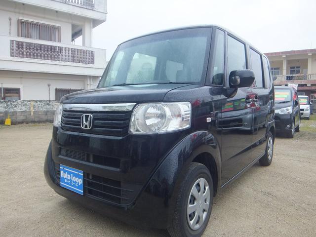 沖縄の中古車 ホンダ N-BOX 車両価格 64万円 リ済込 2012(平成24)年 9.0万km ブラックM