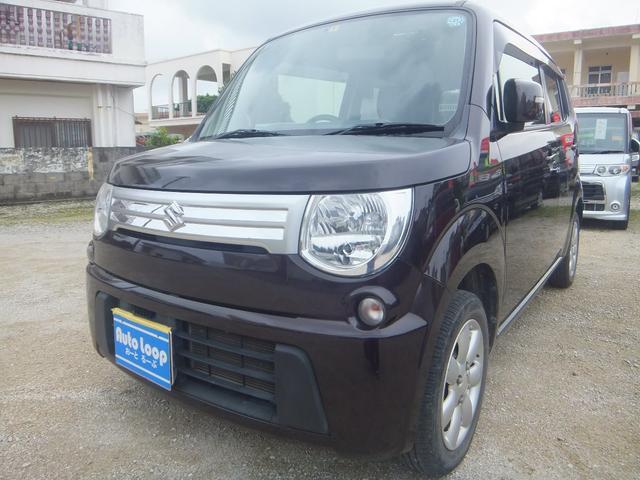 沖縄の中古車 スズキ MRワゴン 車両価格 38万円 リ済込 2013(平成25)年 10.8万km ブラウンM
