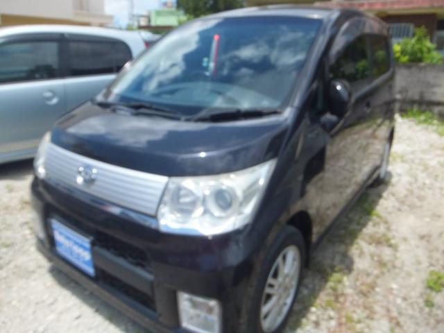 沖縄の中古車 ダイハツ ムーヴ 車両価格 30万円 リ済込 2010(平成22)年 9.0万km ブラックM