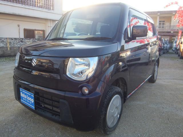 沖縄の中古車 スズキ MRワゴン 車両価格 37万円 リ済込 2013(平成25)年 10.4万km ブラウンM