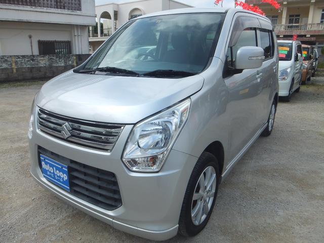 沖縄の中古車 スズキ ワゴンR 車両価格 35万円 リ済込 2012(平成24)年 7.9万km シルバーM