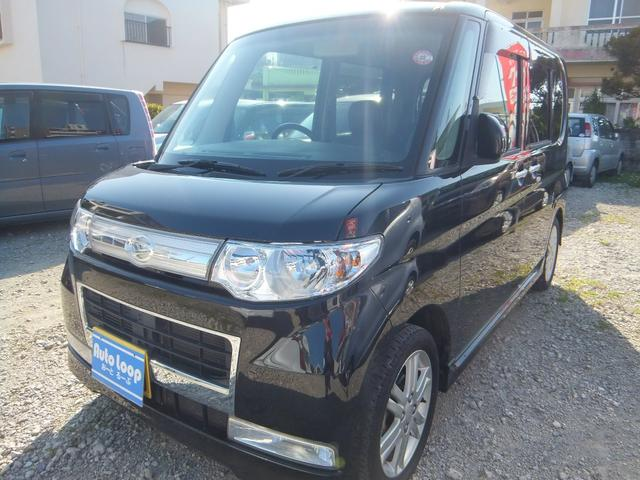 沖縄の中古車 ダイハツ タント 車両価格 43万円 リ済込 2010(平成22)年 10.4万km ブラックM