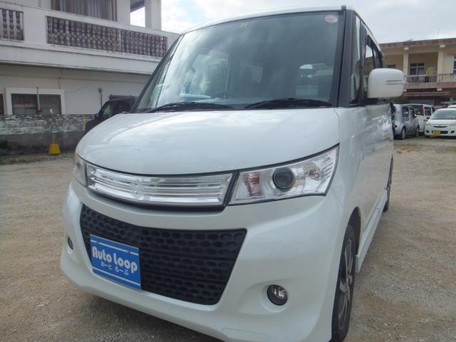 沖縄県沖縄市の中古車ならパレットSW XS パワースライドドドア テレビ付きナビ バックカメラ 本土車