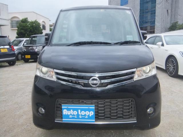 沖縄の中古車 日産 ルークス 車両価格 45万円 リ済込 2010(平成22)年 7.7万km ブラックM