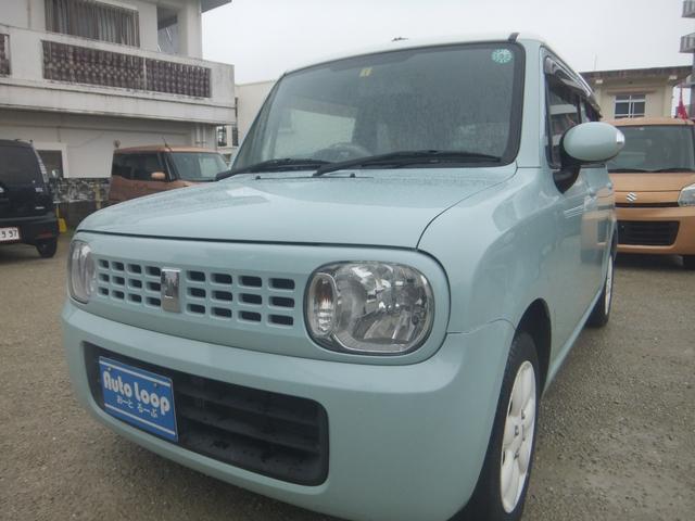 沖縄の中古車 スズキ アルトラパン 車両価格 39万円 リ済込 2011(平成23)年 9.0万km グリーンII