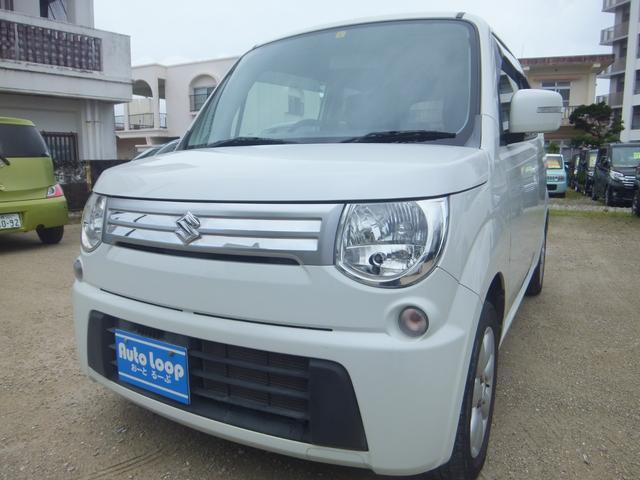 沖縄の中古車 スズキ MRワゴン 車両価格 47万円 リ済込 2012(平成24)年 6.9万km パールホワイト