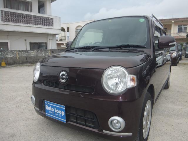 沖縄県の中古車ならミラココア ココアプラスX テレビナビ ブルートゥース インテリキー