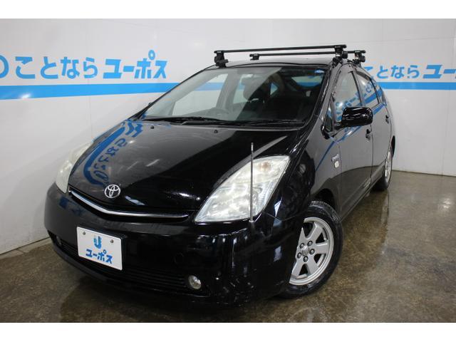 沖縄県の中古車ならプリウス Sスタンダードパッケージ ルーフキャリア 15インチアルミ