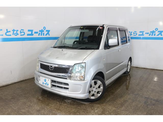 沖縄の中古車 マツダ AZワゴン 車両価格 7万円 リ済別 2006(平成18)年 12.0万km シルバー