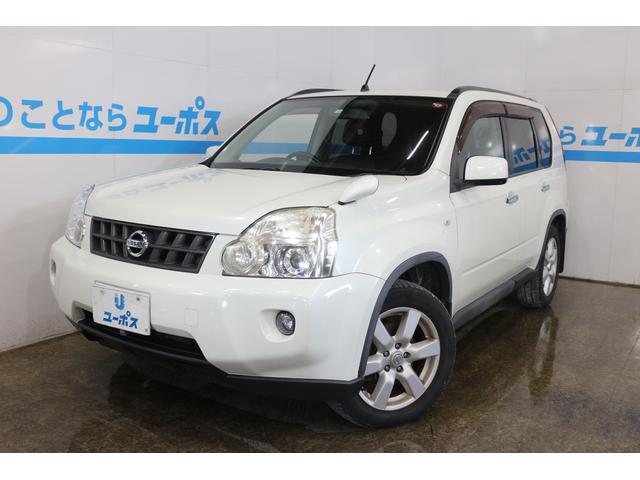 沖縄の中古車 日産 エクストレイル 車両価格 35万円 リ済別 2008(平成20)年 12.2万km ホワイトパール