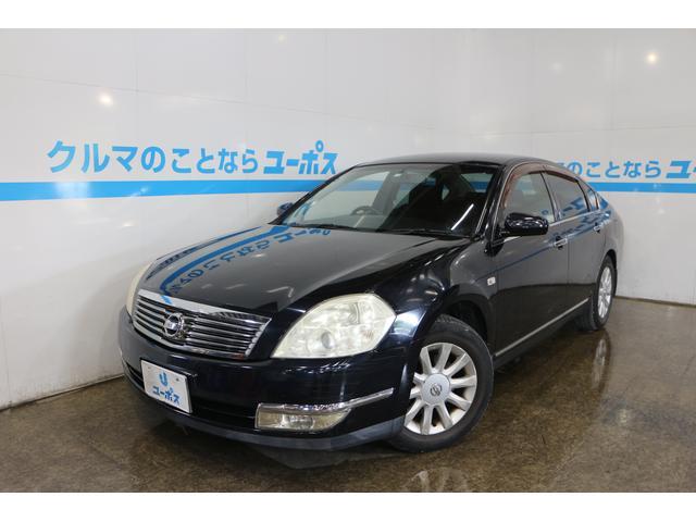 沖縄の中古車 日産 ティアナ 車両価格 25万円 リ済別 2006(平成18)年 5.6万km サファイアブラックP