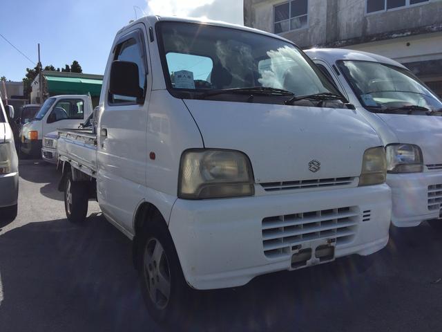 沖縄の中古車 スズキ キャリイトラック 車両価格 19万円 リ済込 平成18年 11.0万km ホワイト