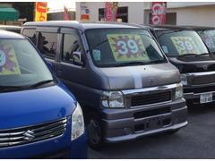 沖縄の中古車 ホンダ バモス 車両価格 38万円 リ済込 平成13年 8.1万K シルバーM
