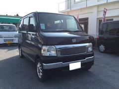 沖縄の中古車 ホンダ バモス 車両価格 38万円 リ済込 平成18年 10.9万K ブラック