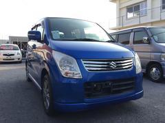 沖縄の中古車 スズキ ワゴンR 車両価格 38万円 リ済込 平成22年 8.8万K ブルーM