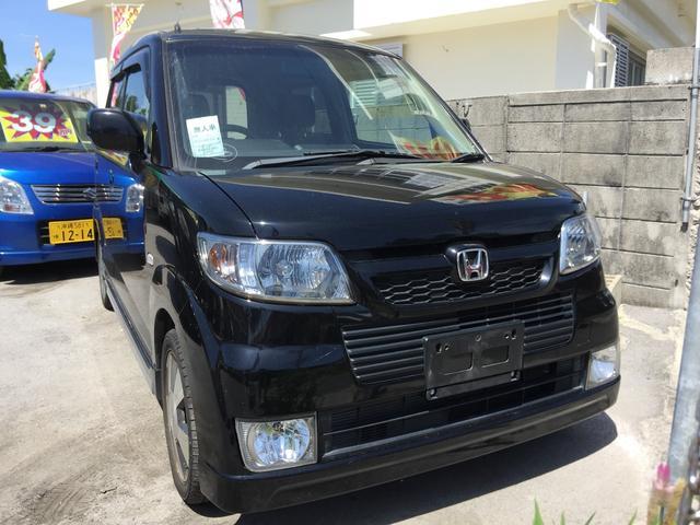 沖縄の中古車 ホンダ ゼスト 車両価格 25万円 リ済込 平成19年 9.1万km ブラック