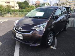 沖縄の中古車 トヨタ ラクティス 車両価格 98万円 リ済別 平成28年 0.7万K ワイン