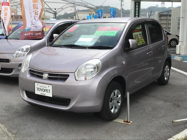 沖縄の中古車 トヨタ パッソ 車両価格 64.8万円 リ済別 平成25年 1.3万km ライトパープル