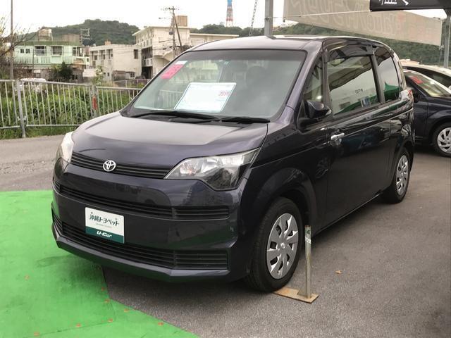 沖縄の中古車 トヨタ スペイド 車両価格 78万円 リ済別 2013(平成25)年 4.4万km 紺