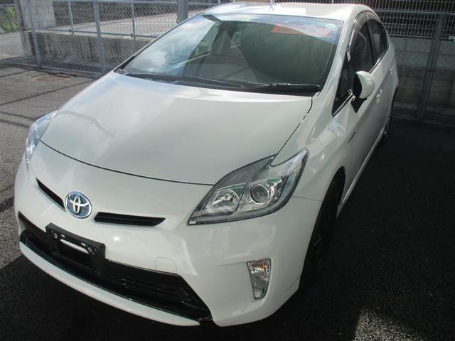 沖縄の中古車 トヨタ プリウス 車両価格 162万円 リ済別 平成27年 5.1万km ホワイト