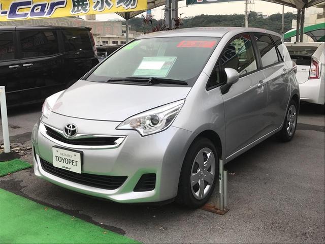 沖縄の中古車 トヨタ ラクティス 車両価格 88万円 リ済別 2016(平成28)年 3.6万km シルバー
