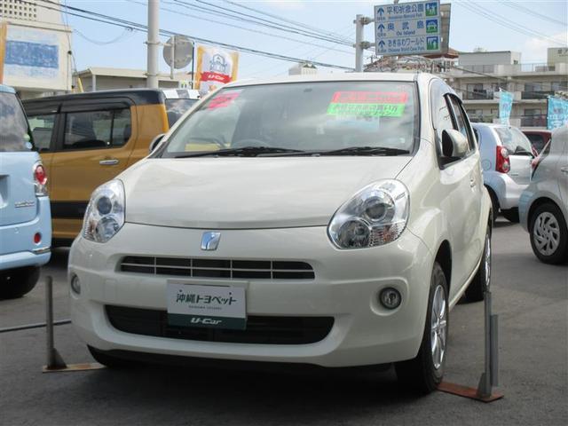 沖縄の中古車 トヨタ パッソ 車両価格 68万円 リ済別 2013(平成25)年 1.2万km パールマイカ